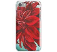 Red in Fury iPhone Case/Skin