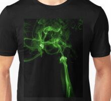 Green matrix style smoke T shirt Unisex T-Shirt