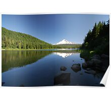 Mt. Hood Reflection Poster