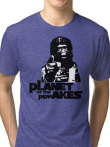 Planet of the Remakes Tri-blend T-Shirt