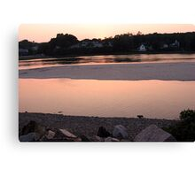 Ogunquit Just Rosy Canvas Print