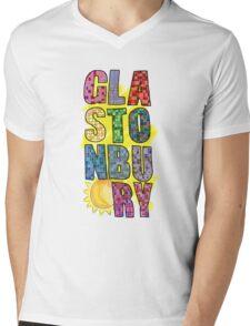 Glastonbury Festival  Mens V-Neck T-Shirt