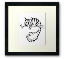 The Cheshire Cat Framed Print