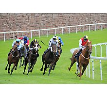 Chester races-Ladies Day in May. Photographic Print