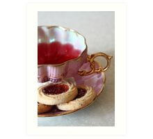 Care to Come to Tea? Art Print