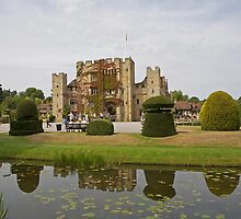 Hever Castle reflection by Keith Larby
