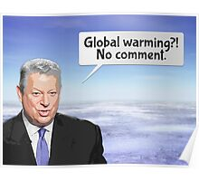 Al Gore's Global Warming Lie Poster