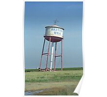 Route 66 - Leaning Water Tower Poster
