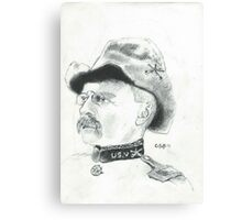 Theodore Roosevelt Canvas Print