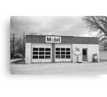 Route 66 - Rusty Mobil Station Canvas Print