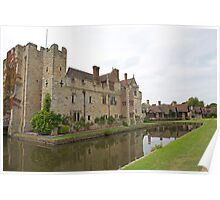 Hever castle reflections Poster