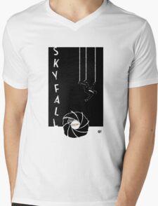 Skyfall 007 Mens V-Neck T-Shirt