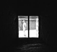 Stranger at the Window by Nigel Bangert