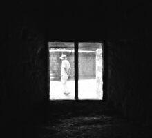 Stranger at the Window by Nigel Bangert