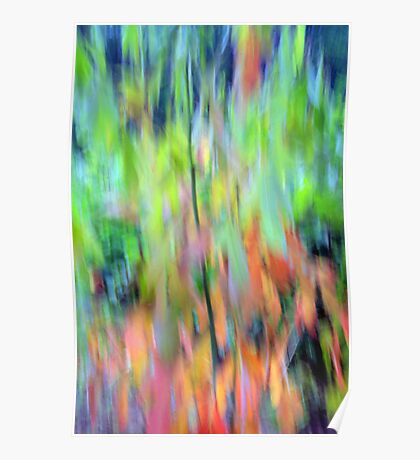 Impressionistic Louis Campbell Summer Poster