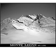 monte leone Photographic Print