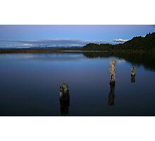 okarito lagoon  south westland  nz Photographic Print