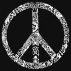Floral Peace Sign by grafficjunkie
