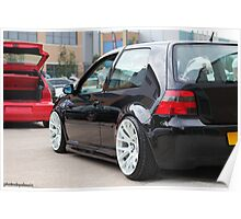 Patch's Mk4 Golf Poster
