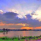 Lake Eufaula Sunset by WTBird