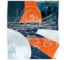 Particle collision Poster
