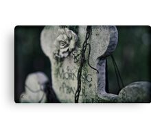 morning prayer Canvas Print