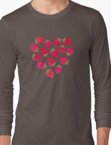 Strawberries and Chocolate Long Sleeve T-Shirt