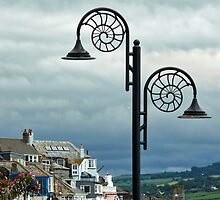Lighting The Seafront ~ Lyme Regis by Susie Peek