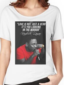 Kendrick Lamar Quote Women's Relaxed Fit T-Shirt