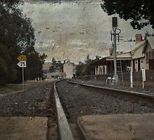 Railway Station Molong by garts