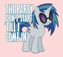 Vinyl Scratch - I Start the Party Kids Clothes