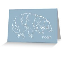 Oh Noes a Water Bear!  Greeting Card