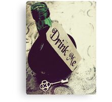 Drink Me Canvas Print