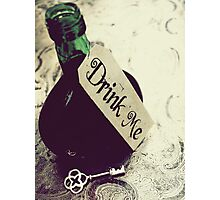 Drink Me Photographic Print