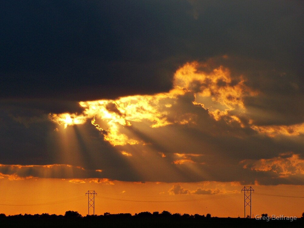 Rays of Hope by Greg Belfrage