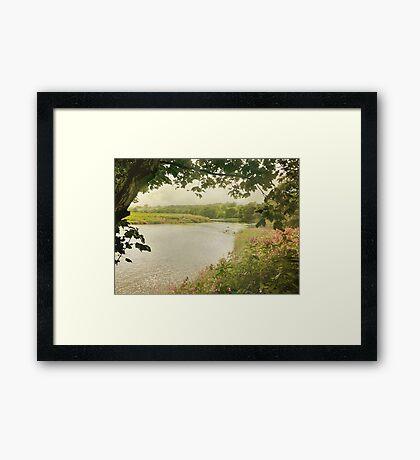 A Soft Day Framed Print