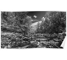 Chesterfield Gorge BW 2 Poster