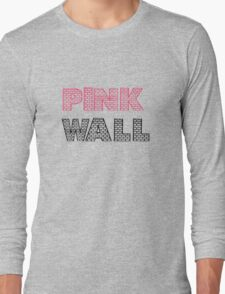 Pink Floyd The Wall Album Long Sleeve T-Shirt