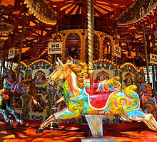 joseph, the merry go round horse  by richard  webb
