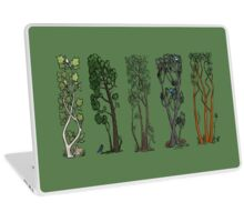Five Trees/Green Laptop Skin