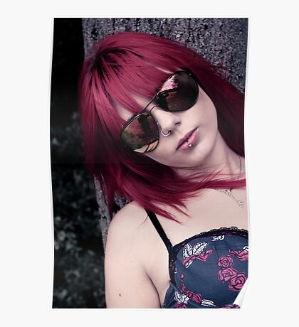 Red Haired Rage Poster