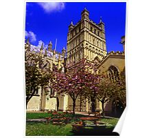 Exeter Cathedral Cafe Poster
