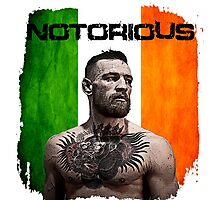 """The Notorious"" Conor McGregor UFC Photographic Print"