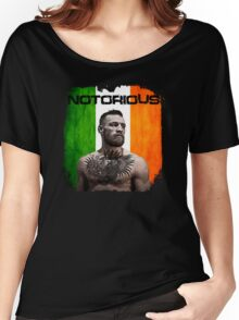 """The Notorious"" Conor McGregor UFC Women's Relaxed Fit T-Shirt"