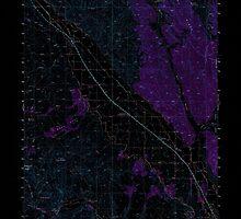 USGS Topo Map Oregon Jamieson 282611 1950 62500 Inverted by wetdryvac