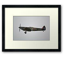 Spitfire Landing Framed Print