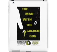 The Man With The Golden Gun 007 iPad Case/Skin