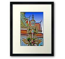 Angry Looks Framed Print