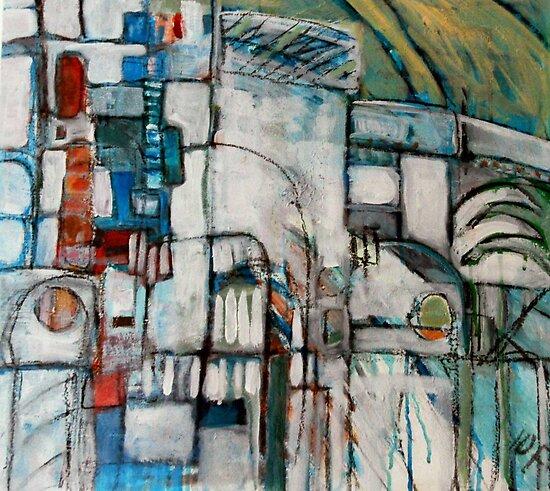 street scene spain by H J Field