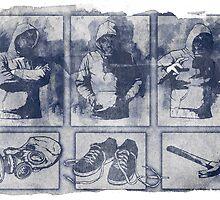 Vigilante Blueprint by matthewdunnart